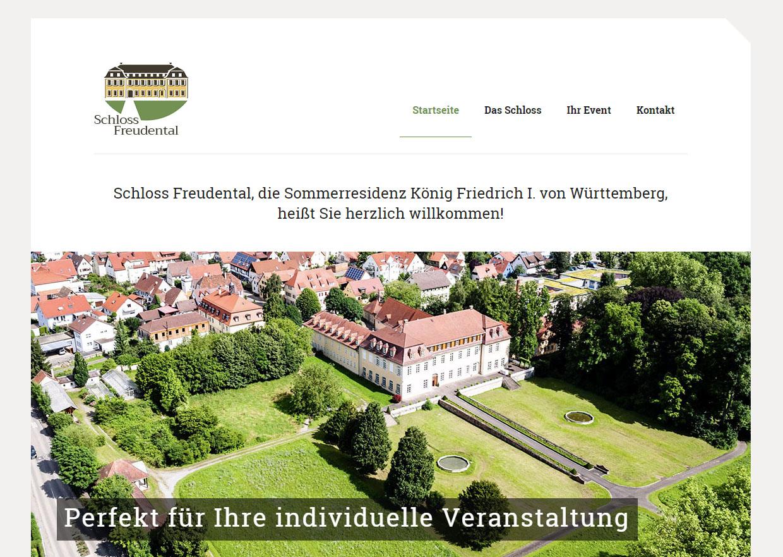 Referenz Schloss Freudental